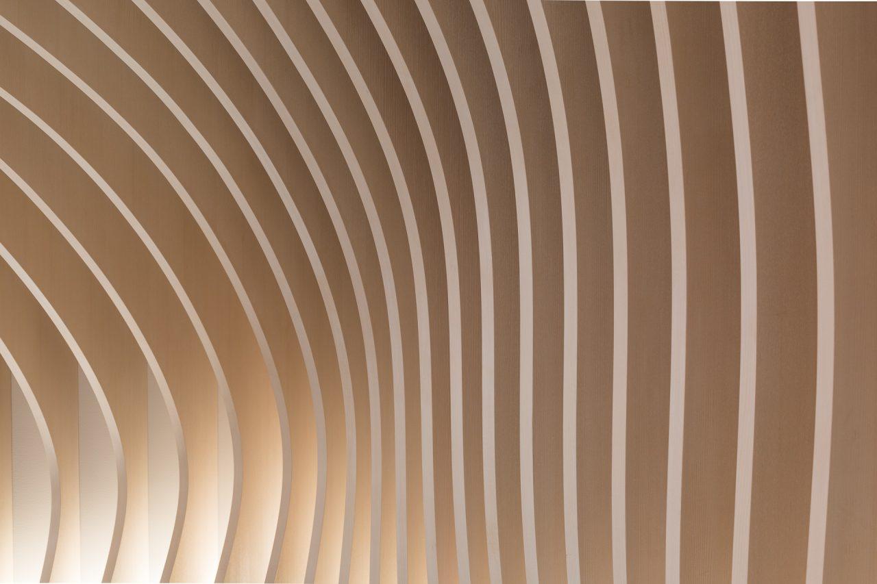 Detaljbilde av spiler i rom